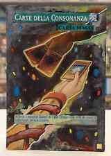 Yu Gi Oh CARTE DELLA CONSONANZA ALTERED EXTENDED ART ITALIANO IT Hand Painted IT