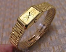 LADIES CORUM 5 GRAM INGOT 24K & 18K GOLD WATCH & BRACELET