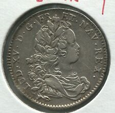 1716 French Silver Coin - Wars of 1716 Honors - Silver -  Rare - Lot EC# 1433