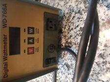 Ac Rms Wd-766A Digital Wattmeter Kappa Viz test equipment Monitor