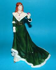 ROYAL WORCESTER Figurine ornament 'The Rose of Camelot' L/E  1st Quality +CERT