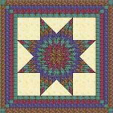 Quilt Kit/ Batik Lonestar/GorgeousPre-cut Fabrics ready to sew/Exped/Queen