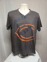 Chicago Bears Adult Large Gray T-Shirt