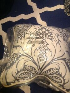 """Croscill Auden Square Pillow, 18 X 18"""" New In Package"""