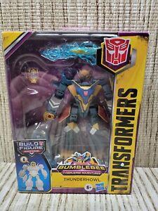 Transformers THUNDERHOWL Bumblebee Cyberverse Maccadam Build A Figure BAF
