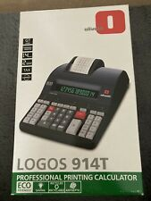 More details for logos 914t olivetti professional printing calculator
