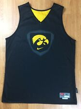 Iowa Hawkeyes Reversible Basketball Jersey Nike Authentic Team Issue #23 XL