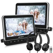 "2* 10.1"" Full HD Headrest DVD Player for Car & Home Use HDMI USB AV OUT/IN Kids"