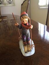 Hummel Germany Vintage Figurine Skier