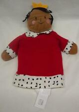 """Ikea Cute King Or Queen Hand Puppet 11"""" Plush Stuffed Animal Gladlynt"""