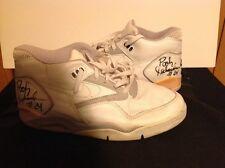 NIKE Air Force Autographed Pooh Richardson Basketball Shoes UCLA Bruins NBA