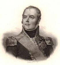 Maréchal Macdonald Sedan Ardennes Napoléon Bonaparte Duc de Tarente 1839