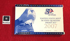 OGP W// Box And COA 2007-s US MINT STATE QUARTER PROOF SET