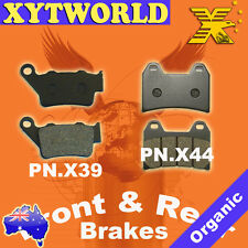 FRONT REAR Brake Pads for KTM SMC 640 LC4 2005