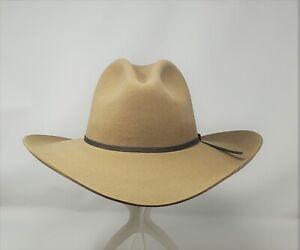 STETSON JOHN WAYNE GUS STYLE PEACEMAKER 4X WOOL COWBOY WESTERN HAT