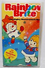 "Rainbow Brite ""The Mighty Monstromurk Menace"" 1983 VHS Children's Video"