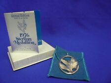 1976 Wallace Silversmiths Sterling Medallion-Annual Edition Sixth in a Series