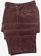 Brooks Brothers Pantalones Pana 32x27 Brown Mens Mezcla de Algodón Hudson