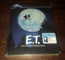 E.T. 100th Anniversary Collector's Series DigiBook [Blu-ray/Dvd/UV, 2012] SEALED