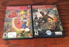 Lot Of 2 Sony PS2 Games Jak and Daxter: The Precursor Legacy And Medal Of Honor