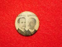 VINTAGE CIRCA 1902 NEW YORK REPUBLICAN GOVERNOR POLITICAL BUTTON ODELL HIGGINS