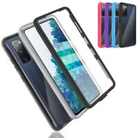 For Samsung Galaxy S20 FE 5G,A12 Full Body Case Cover Built-In Screen Protector