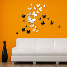 Butterfly Family Home Bedroom Wall Stickers Mural Decal Paper Art Decoration