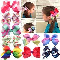 Girls Hair Bow Clips Kinder Haarspangen Haarnadeln für Babys Zubehör für Haare