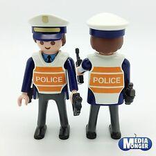 playmobil® Figur: Polizei | Polizist mit Weste | Mütze | Pistole | Funkgerät