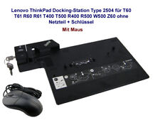 Lenovo ThinkPad Docking-Station Type 2504 für T60 T61 R60 R61 T400 T500 R400 R50