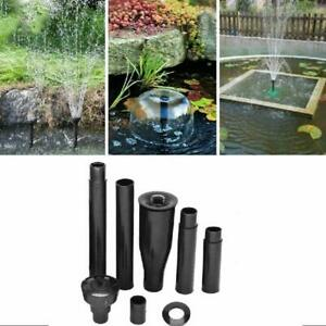 Nine Star Garden Water Pump Nozzle Head Set Fountain Kit Small Fast Shipping IND