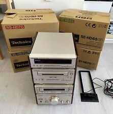 Technics Stereo Amplifier SE-HD65 CD SL-HD70 Tape RS-HD70 Tuner ST-HD70 BOXED