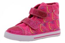 Hello Kitty Toddler Girl's HK Lil Sabrina High-Top Pink Fashion Sneakers SIZE 6M