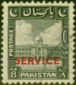 Pakistan 1948 8a Black SG022 Fine Used