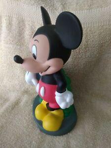 Vintage Mickey Mouse Disney Banco Monedas Hucha Vintage