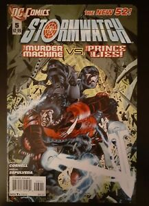 March 2012 DC Comics: Stormwatch #5 *NEW 52*