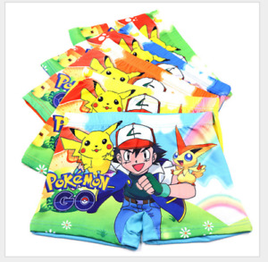 Toddler Baby Boys 3D children cartoon Underwear Children 100%Cotton Boxer Shorts