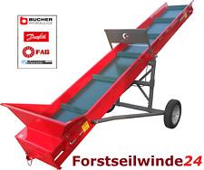 Conveyor Belt Firewood, Hackschnitzel, Pellet, Collino/Various Spread & Lengths