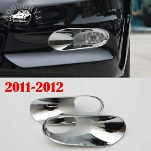 ABS Front bumper fog light trim cover For Honda Accord 4DR sedan 2011-2012 2pcs