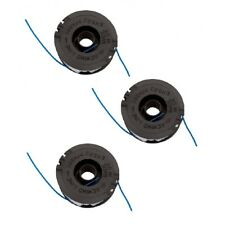 3 x ALM Trimmer Strimmer Spool & line For Florabest ERT 450/8 FRT 430 FRT 430/10