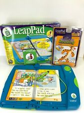 LeapPad Learning System 30004 With Original Box Extra Tigger Book & Cartridge