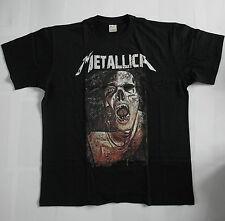 T- Shirt Metallica - Heavy Metall, schwarz, Totenkopf, Größe XL, 100 % Baumwolle