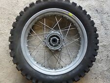 BMW F650GS Off year 2001 F 650GS rear wheel rim tire