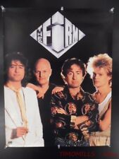 1985 The Firm Atlantic Record Store Promo Poster Vintage Original Vg