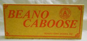 Beano HO 1/87 B&O Baltimore Ohio Railroad I-16 Caboose kit