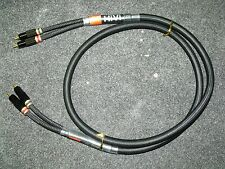 Swan 1.5M Stereo Interconnect Cable Locking RCA's