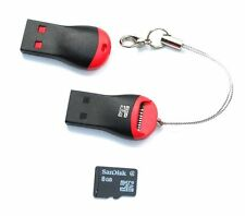 Memory Card Reader To USB 2.0 - Adapter for Micro SD SDHC SDXC TF