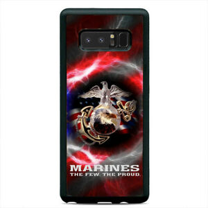 The Proud USA Flag Marines Case Cover Samsung Galaxy Note 20 Ultra 10 Plus 9 8