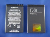 ORIGINAL NOKIA Lumia 520 BL- 5J Li-ion BATTERY BL 5J 5800 XPRESS N900 X1 01 X6