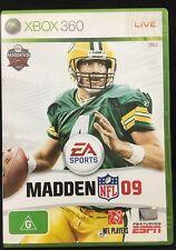 XBox 360 Game Madden NFL 09